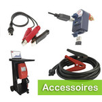 Accessoires voor acculaders en druppelladers