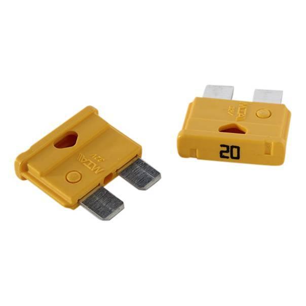 Zekering voor acculader / druppellader
