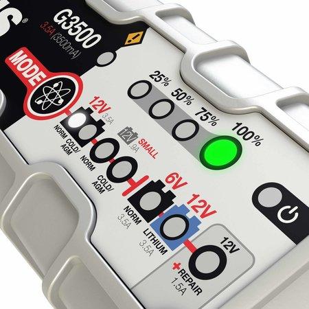 Noco Genius G3500 acculader/ druppellader 6V en 12V