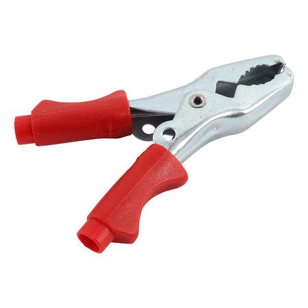 Telwin kleine rode accuklem voor kleine acculaders en accu's