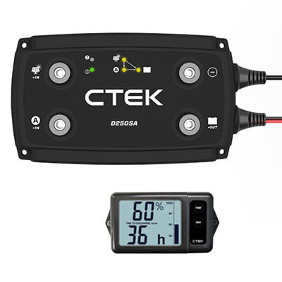 CTEK D250SA OFF GRID + Monitor