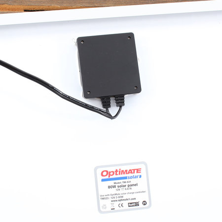 Tecmate Optimate Solar 80W zonnepaneel