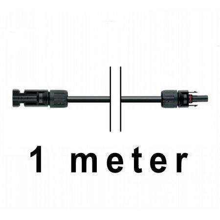 TopSolar kabel 6mm² 1m MC4 male/female