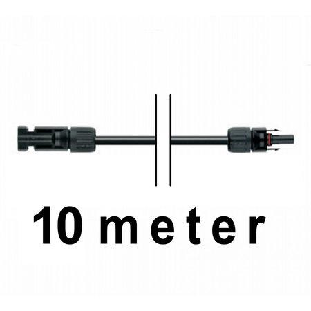 TopSolar kabel 4mm² 10m MC4 male/female