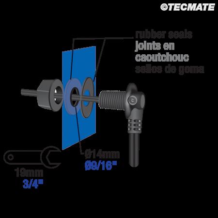 Tecmate Optimate O30 stroomvoorziening tanktas