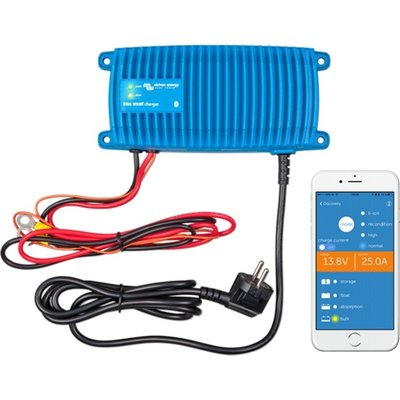 Victron Blue Smart IP67 Acculader 12/25 (1 + Si)