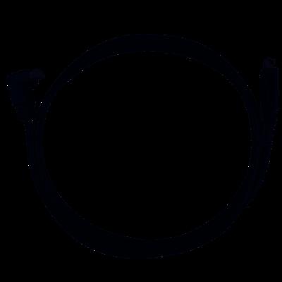 Victron VE.Direct kabel 10m (één zijde 90°)