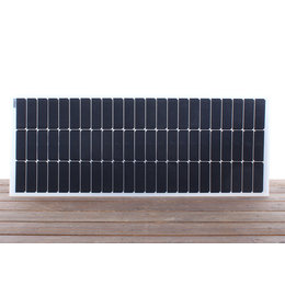Semi flexibel zonnepaneel 110Wp flush