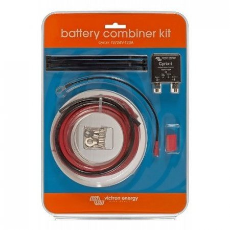 Victron Cyrix-ct Battery Combiner Kit 12/24V-120A
