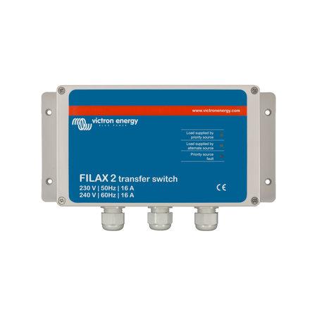Victron Filax-2 230V/50Hz-240V/60Hz omschakelautomaat