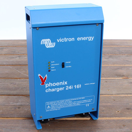Victron Phoenix charger 24/16 (2+1) 90-265V AC