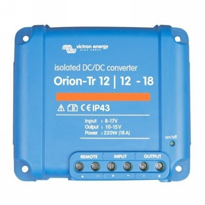 Victron Orion-Tr 12/12-18A (220W) Geïsoleerd