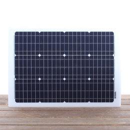 Semi flexibel Lichtgewicht LE zonnepaneel 57Wp Flush