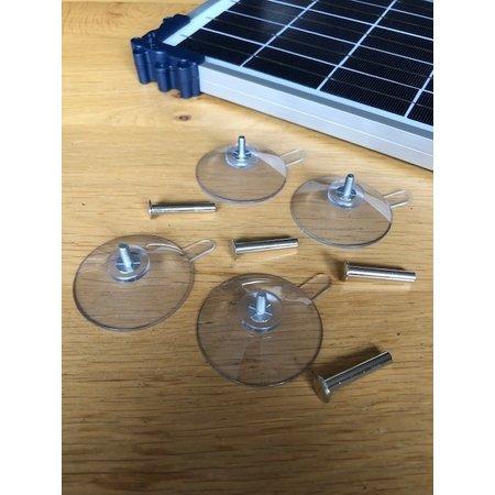 Tecmate Set Zuignappen voor Optimate Solar zonnepanelen