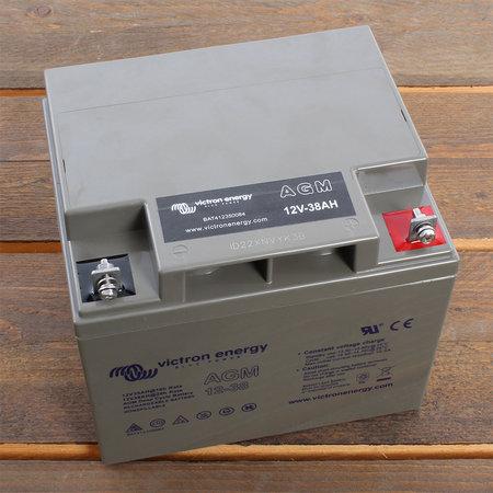 Victron AGM 12V/38Ah Deep Cycle Accu/ Batterij