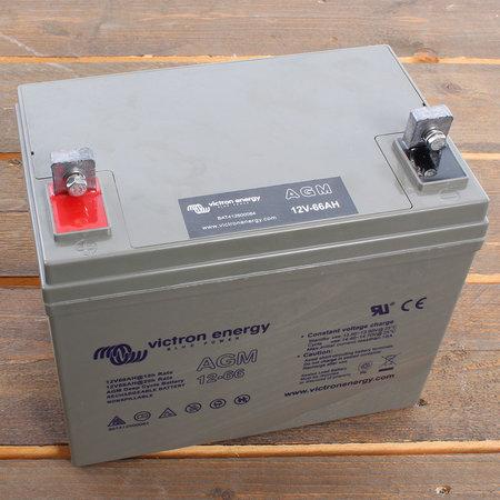 Victron AGM 12V/66Ah Deep Cycle Accu/ Batterij