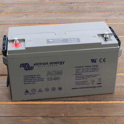 Victron AGM 12V/90Ah Deep Cycle Accu - M6 insert