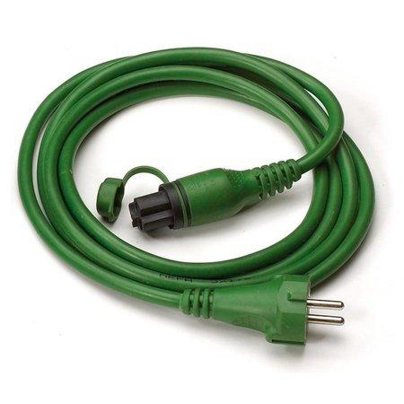 DEFA MiniPlug Aansluitkabel 5M Groen