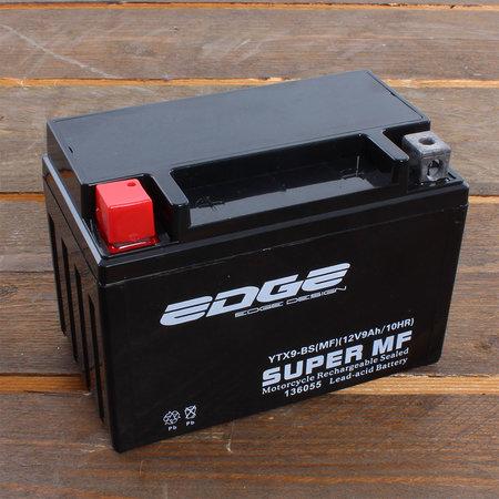 Edge Super MF Accu YTX9-BS (MF) 12V 9Ah - Gel (15 x 10,5 x 8,7 cm)