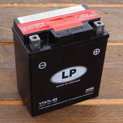 Landport Accu YTX7L-BS AGM 12V 6Ah (11,3 x 7 x 13 cm)