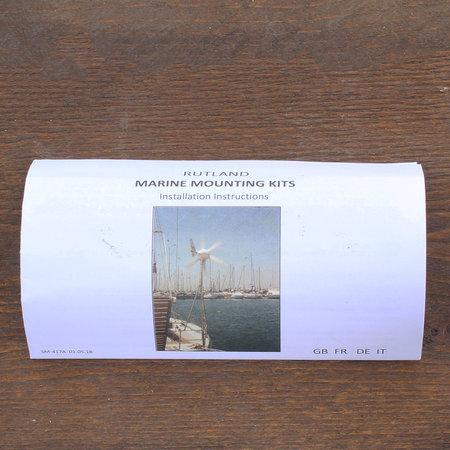Rutland Marine Pole Mounting/ Montage Kit voor Rutland 504 - Type WG503/504