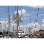 Windgenerator voor boot