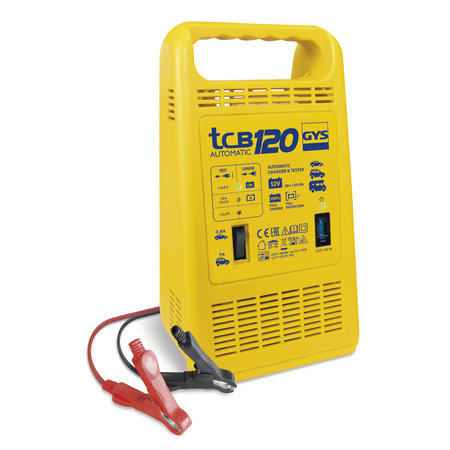 GYS acculader TCB 120 Automatic | 12V 3.5/7A 150W