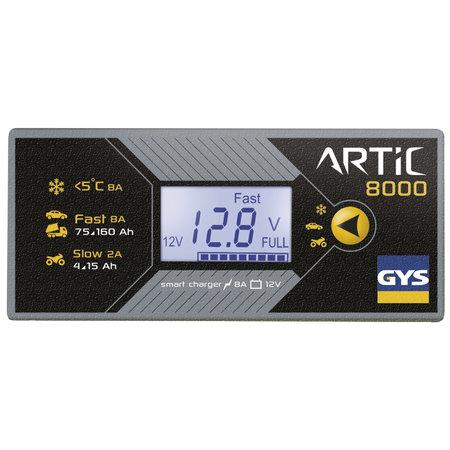 GYS druppellader ARTIC 8000 | 12V 2A/8A 130W