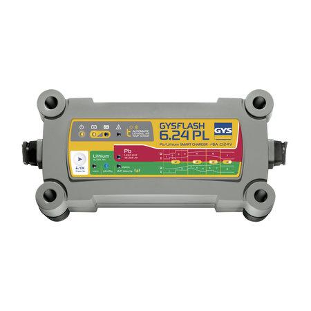 GYS druppellader GYSFLASH 6.24 PL | 24V 6A 190W