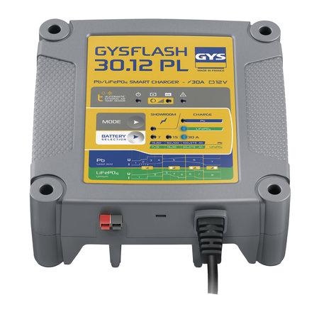 GYS druppellader GYSFLASH 30.12 PL | 12V 7/15/30A 500W
