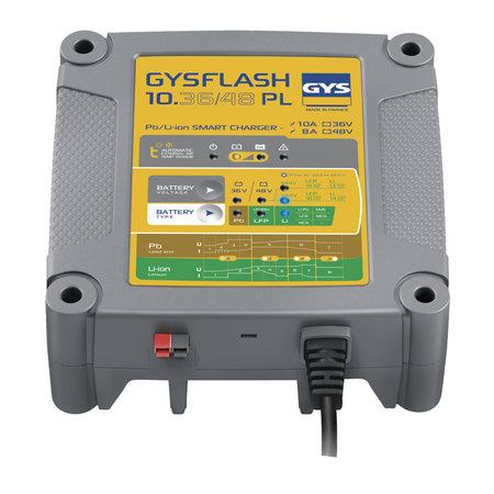 GYS druppellader GYSFLASH 10.36/48 PL | 36/48V 8/10A | 500W