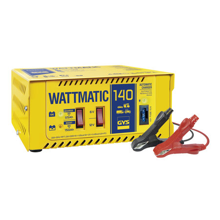GYS acculader Wattmatic 140 | 6/12V 5/9A 230W