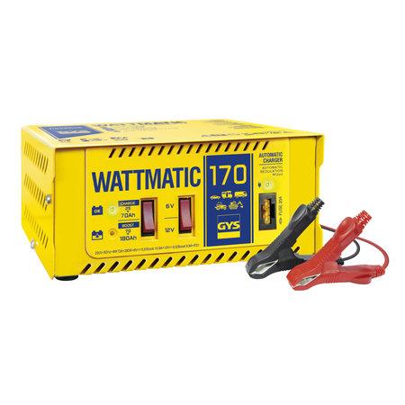 GYS acculader Wattmatic 170 | 6/12V 6.5/10A 280W