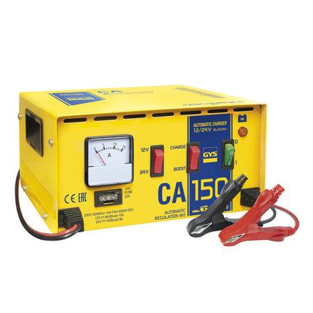 GYS acculader CA 150 | 12/24V 9/10A 500W
