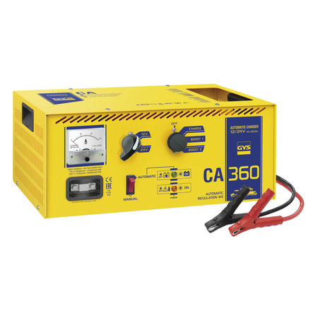 GYS acculader CA 360 | 12/24V max. 22/25A 920W