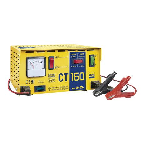 GYS acculader CT 160   12/24V 9/5A 190W
