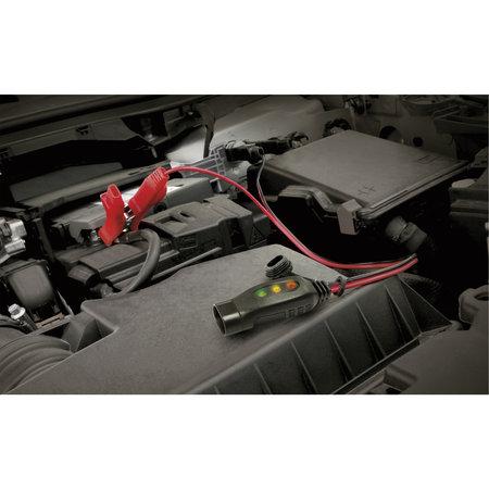GYS KIT F2 kabel met accuklemmen en LED laadindicator