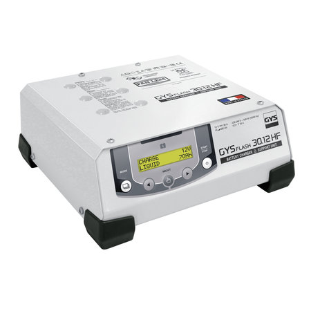 GYS multifunctionele acculader met voeding GYSFLASH 30.12 HF | 30A