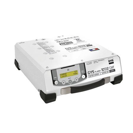 GYS acculader met voeding GYSFLASH 101.12 CNT | USB / SMC | 100A | 2.5M kabels