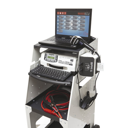 GYS acculader met voeding GYSFLASH 121.12 CNT FV | USB / SMC | 120A | 5M kabels