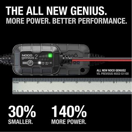 Noco Genius 2 Acculader/ Druppellader 6V en 12V