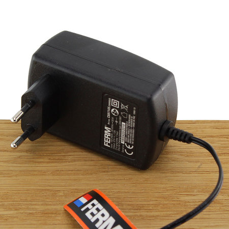 FERM CDA1145 Fast Charger Adapter 18V voor CDM1120 accuboormachine