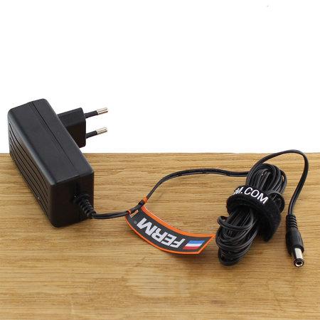 FERM CDA1143 Fast Charger Adapter 12V voor accuboormachines CDM1118, CDM1119 en CDM1129