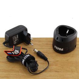 FERM CDA1139 Charger Adapter 12V met base