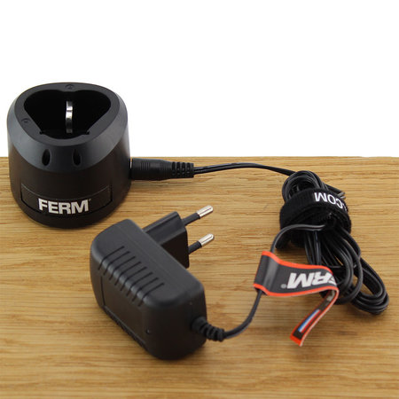 FERM CDA1139 Charger Adapter 12V voor decoupeerzaag JSM1026 en Multitool OTM1006