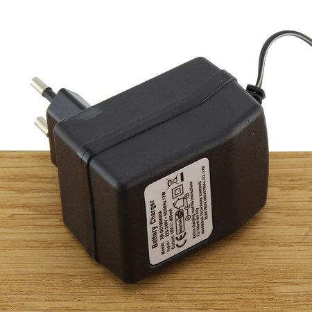 FERM Lader 18V 0.4A 17W met 5mm plug voor boormachine / boorhamer