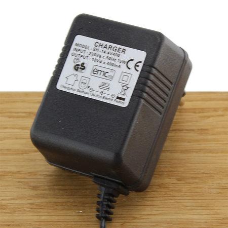 FERM Adapter 18V 0.4A 15W met 5mm plug voor combiset / Garden combi / graskantknipper