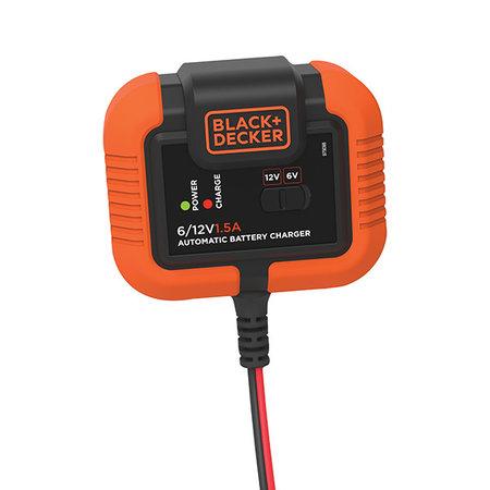 Black & Decker acculader / druppellader 6/12V 1.5A