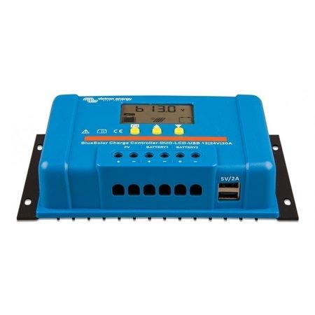 Victron BlueSolar PWM DUO - LCD - USB 12/24V 20A