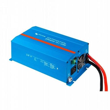Victron Phoenix 12/1200 DC/AC Omvormer - IEC contactdoos